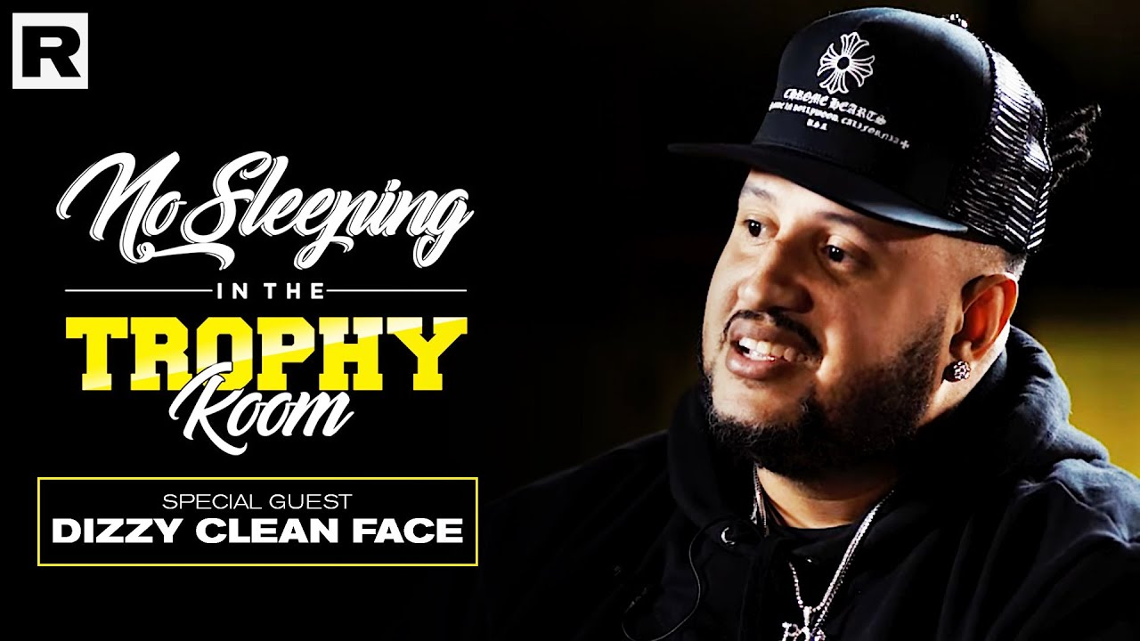 Dizzy Clean Face On The Music Business & Preserving Latin Music | No Sleeping In The Trophy Room