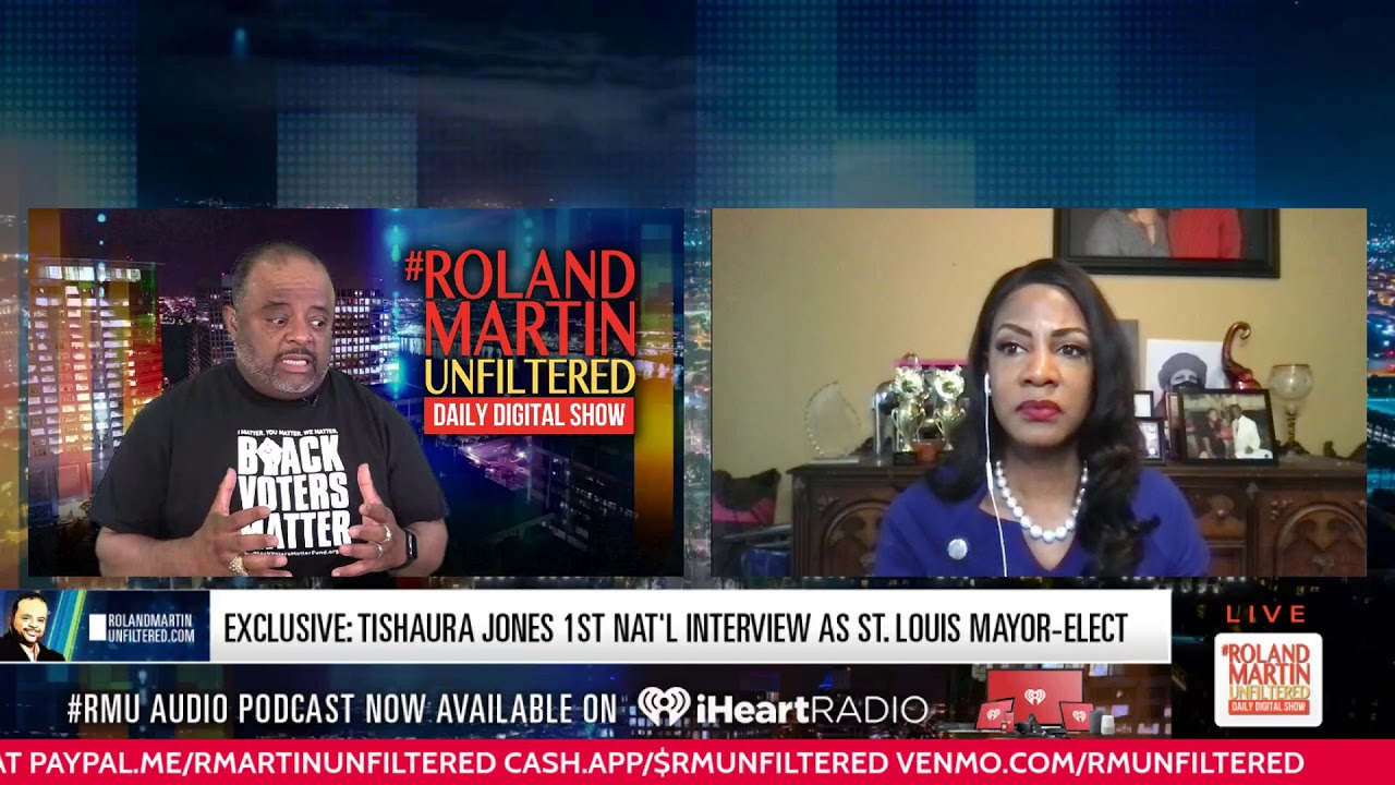 EXCLUSIVE: Tishaura Jones 1st Nat'l interview as St. Louis Mayor-Elect