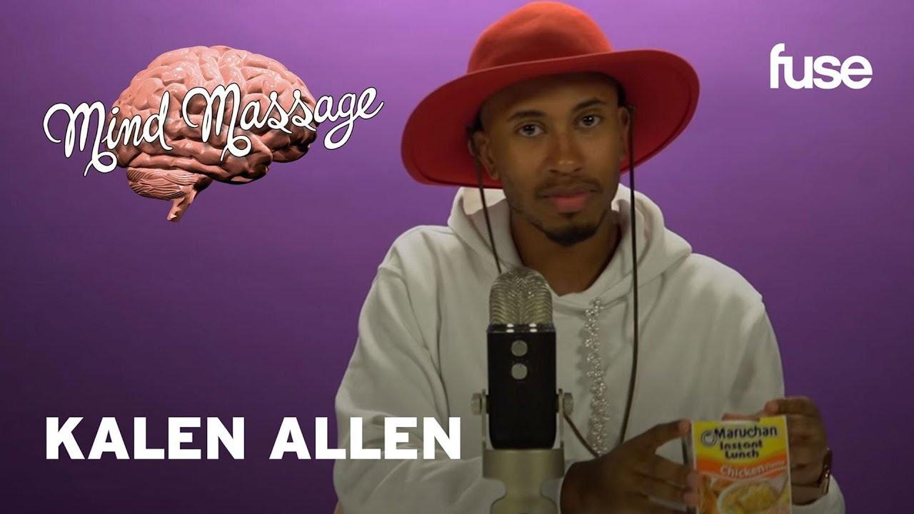 Kalen Allen Does ASMR with Cornbread Mix & Pickles, Talks Ellen & Debut Movie   Mind Massage   Fuse