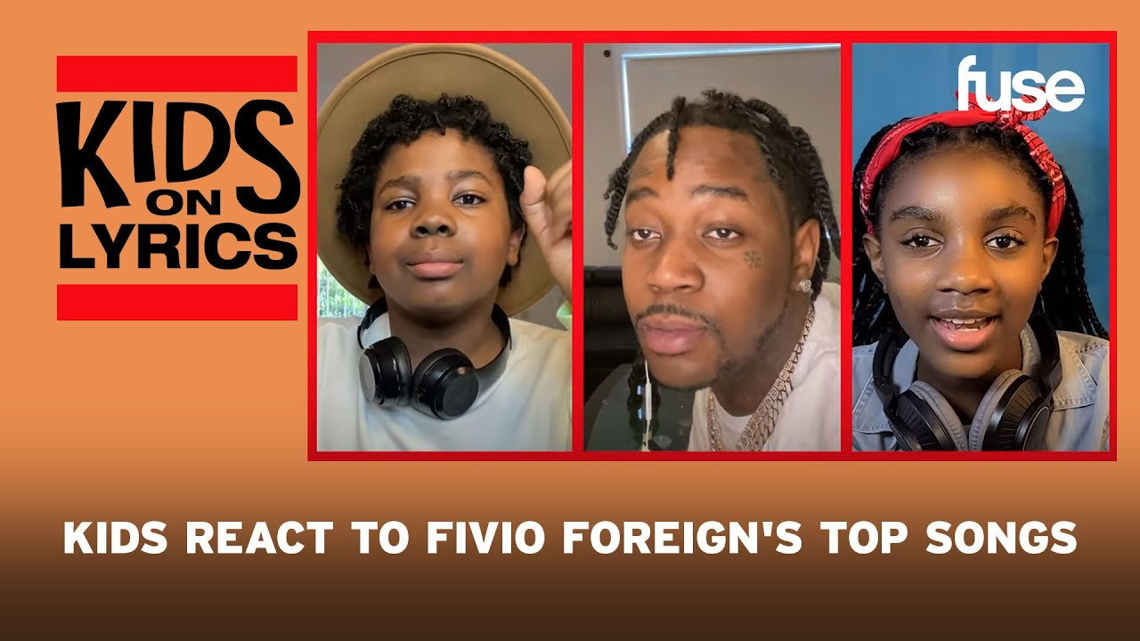 Kids React to Fivio Foreign's Top Songs | Kids on Lyrics | Fuse