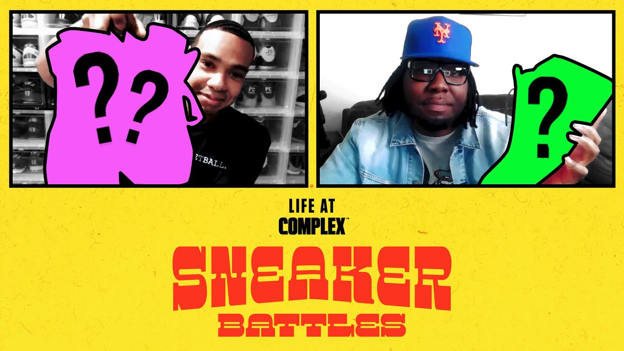 Kyrie / Kobe Collector, MaallyMall vs Spacecampfresh In A SneakerBattle | #LIFEATCOMPLEX