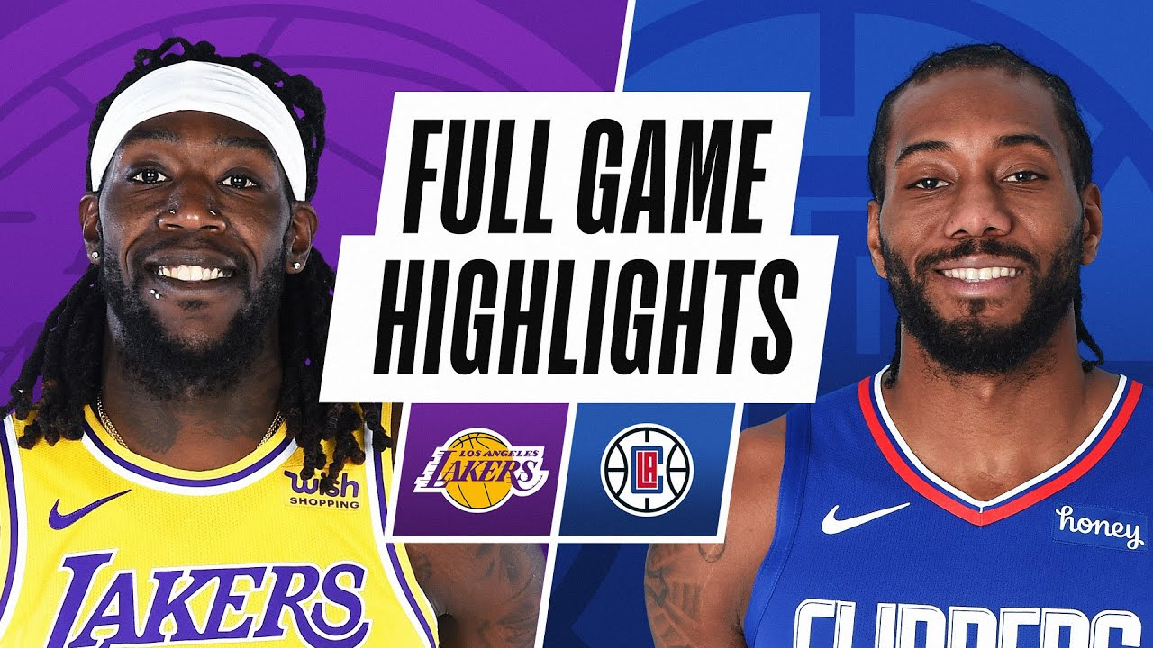 LAKERS at CLIPPERS | FULL GAME HIGHLIGHTS | April 4, 2021