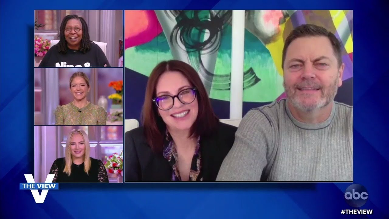 """Megan Mullally and Nick Offerman on New Show """"The Great North"""" and Quarantine Camping 