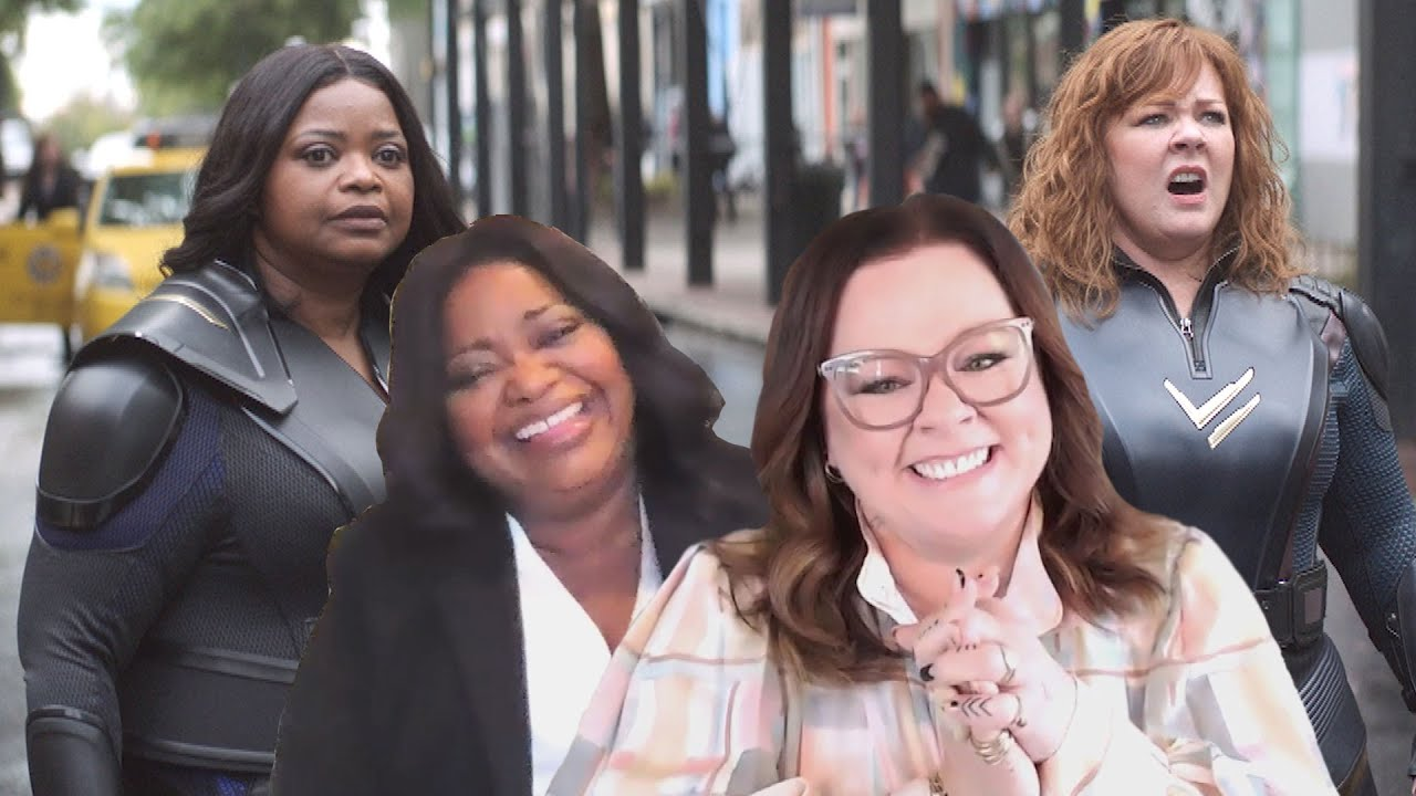 Melissa McCarthy Says CRAB ARMS Effect in Thunder Force Was 'Greatest Moment of My Life' (Exclusi…