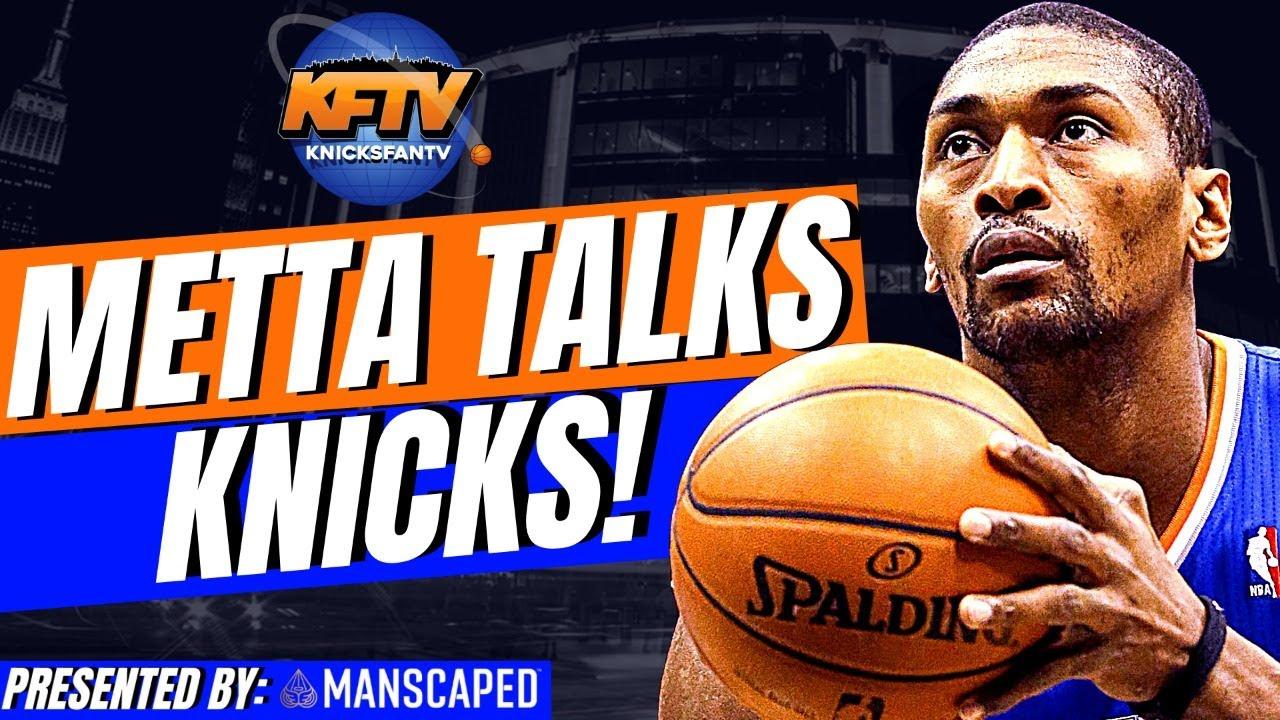 Metta World Peace Talks Knicks, Career Highlights & X vs. X Sports!