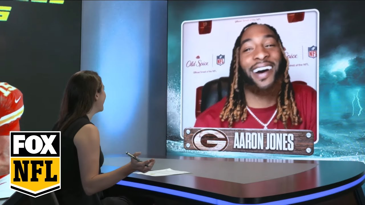 Packers Aaron Jones on playing with Aaron Rodgers this season   FOX NFL