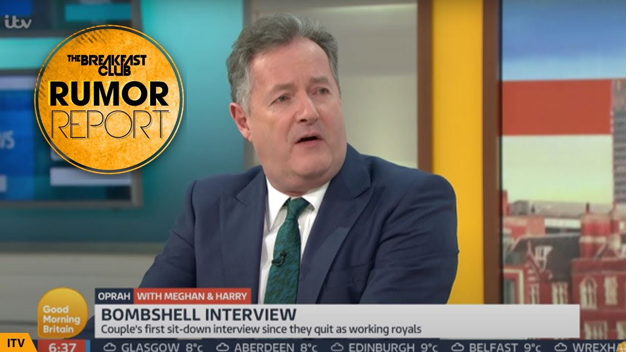 Piers Morgan Storms Off His Own Show After Being Called Out For Harry & Meghan Comments