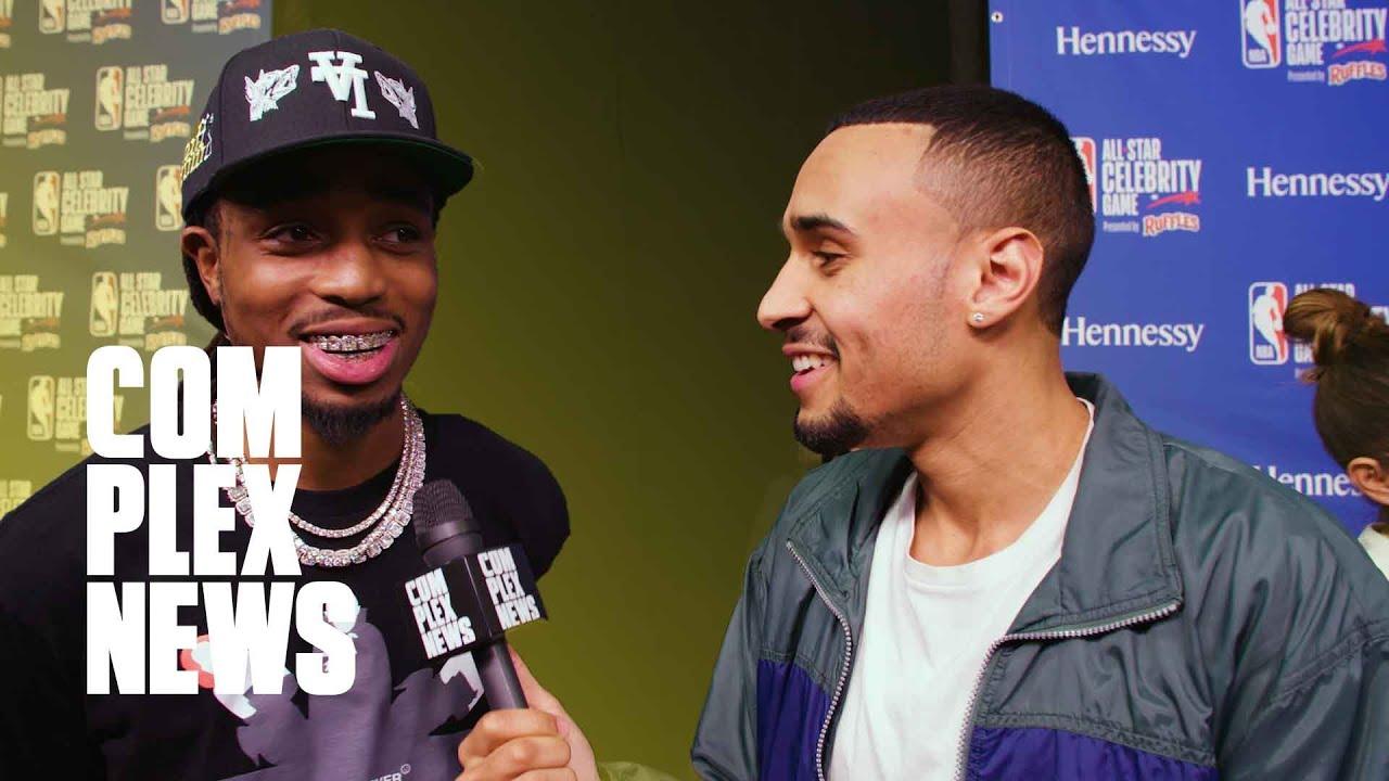 Quavo On Culture 3, Bad Bunny & Drake Collab & Anthony Davis on Lakers Winning Championship