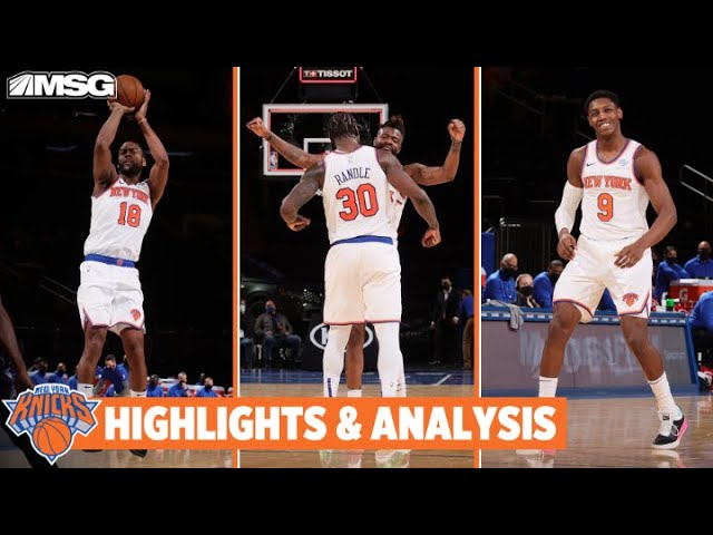 Randle Posts 17 Assist Triple-Double & Bullock Steals the Win vs Magic | New York Knicks