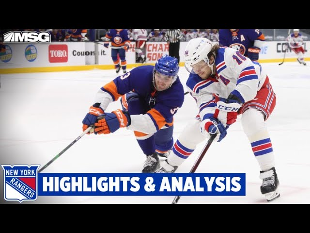 Rangers Get 1 Point But Fall in Overtime To Division Leading Islanders | New York Rangers