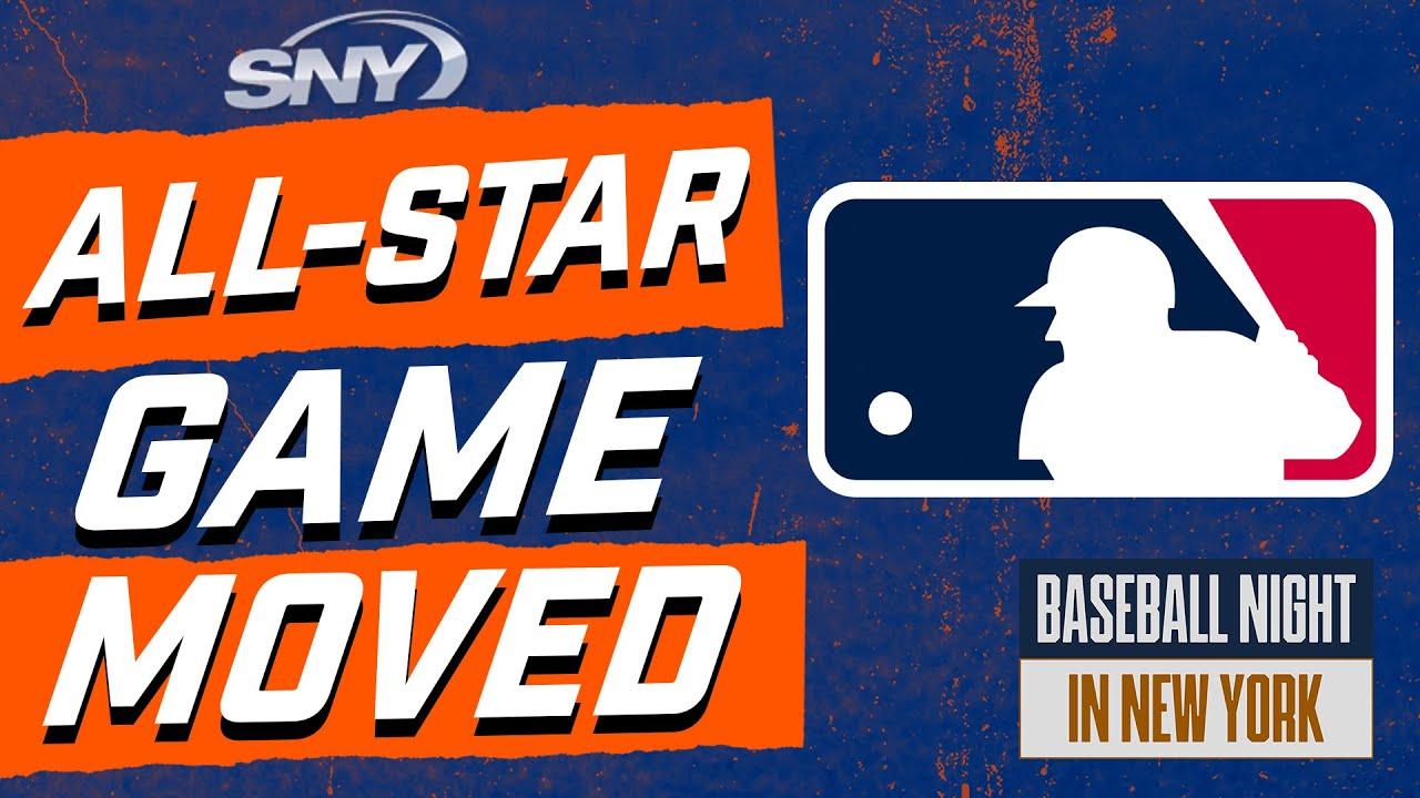 Reacting to MLB pulling 2021 All-Star Game from Atlanta | Baseball Night in New York | SNY