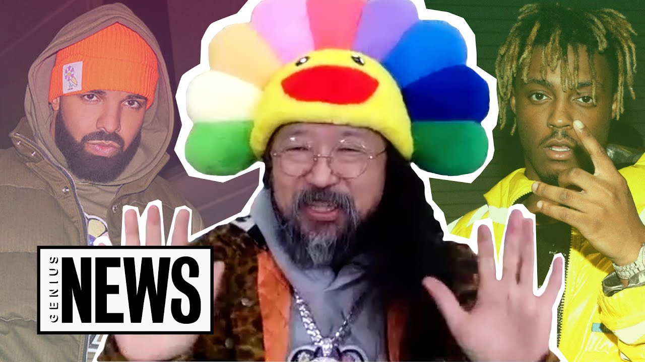 Takashi Murakami Talks Juice WRLD Anime & Drake Collab | Genius News