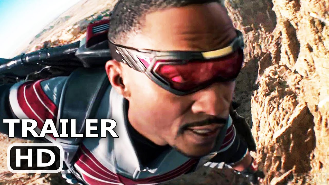 """THE FALCON AND THE WINTER SOLDIER """"Winter Soldier helps Falcon"""" Trailer (New 2021) Marvel Series HD"""