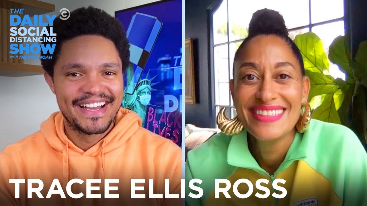 Tracee Ellis Ross - DNC Host, Emmy Nominee and Singer | The Daily Social Distancing Show
