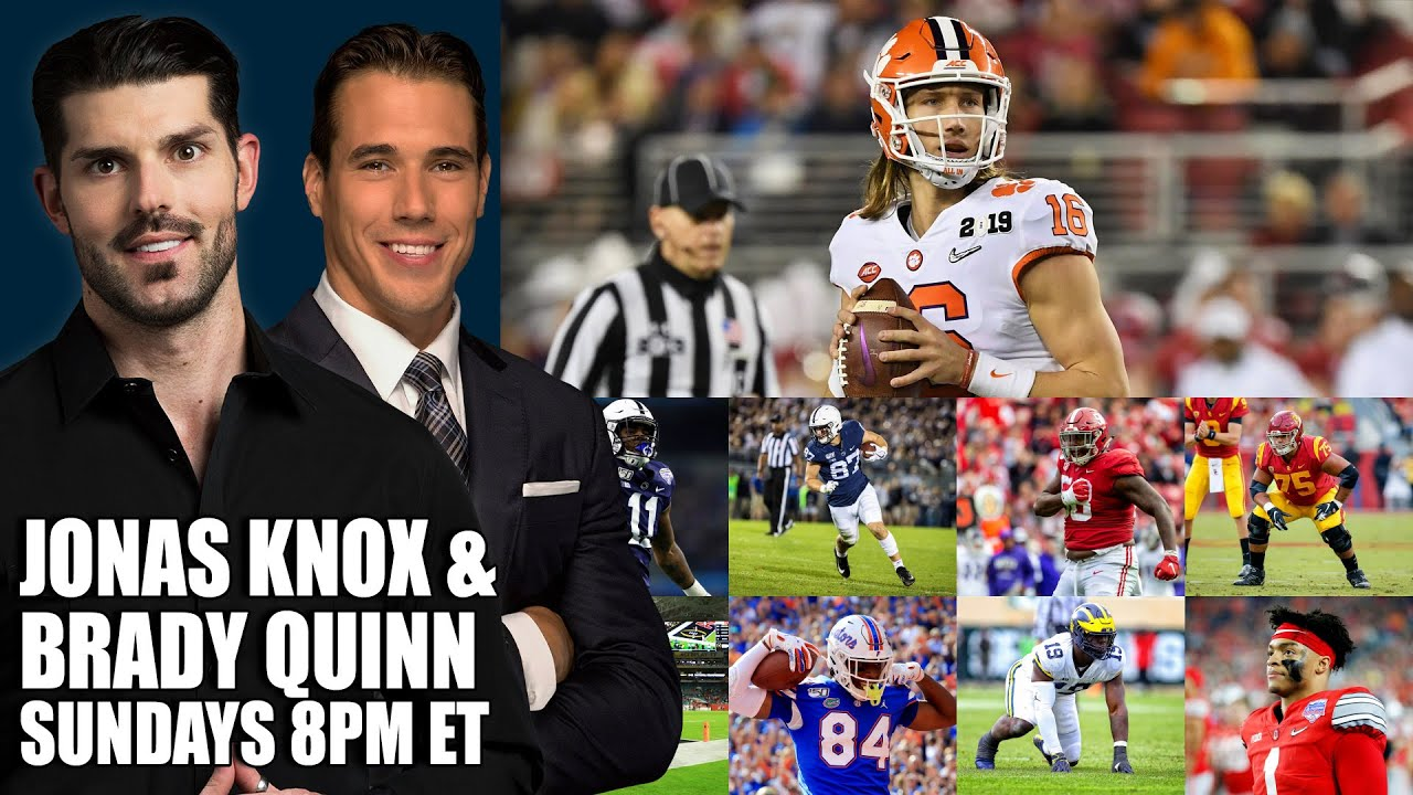Brady Quinn's Explosive Mock Draft With a Blockbuster Trade