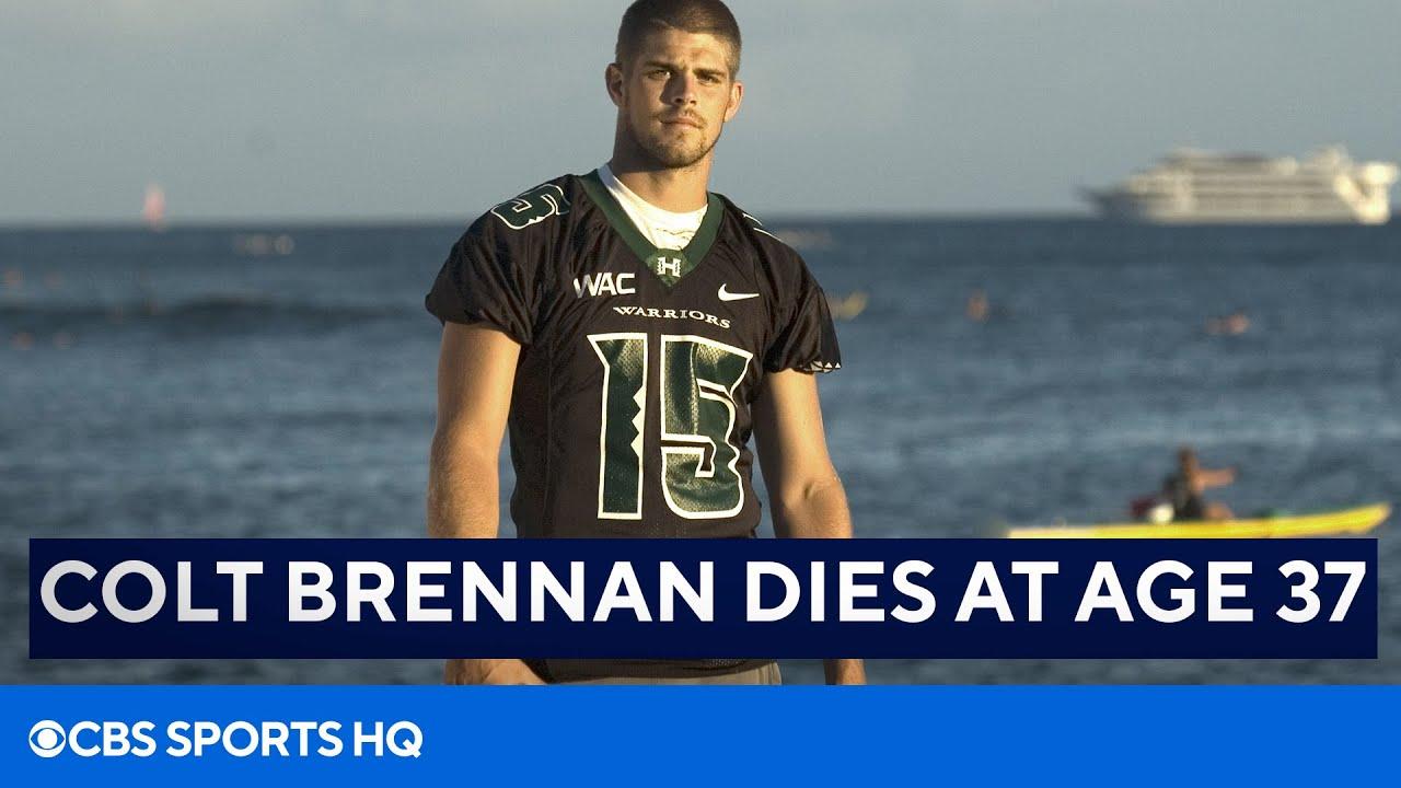 Colt Brennan Dies at Age 37 | CBS Sports HQ