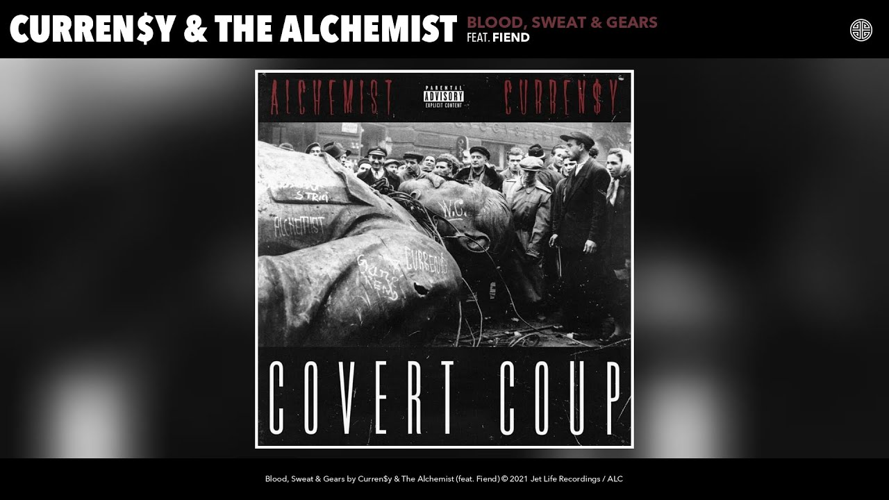 Curren$y & The Alchemist - Blood, Sweat & Gears (Audio) (feat. Fiend)