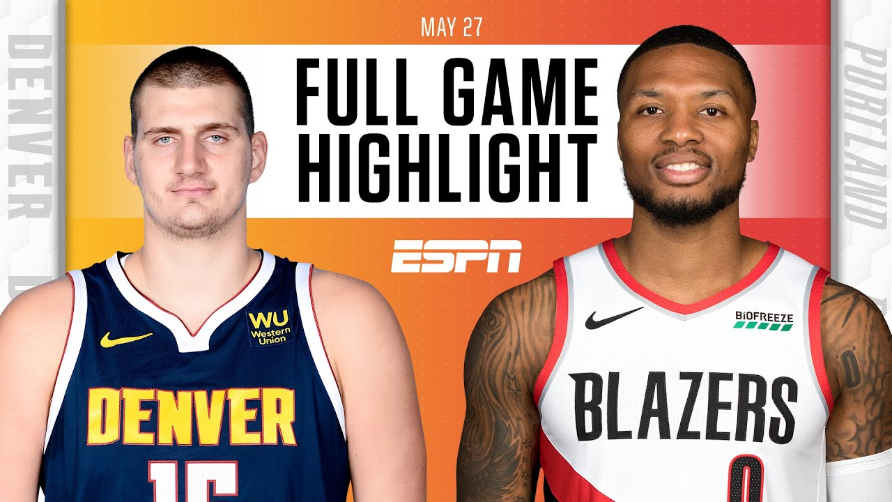 Denver Nuggets at Portland Trail Blazers   Full Game Highlights