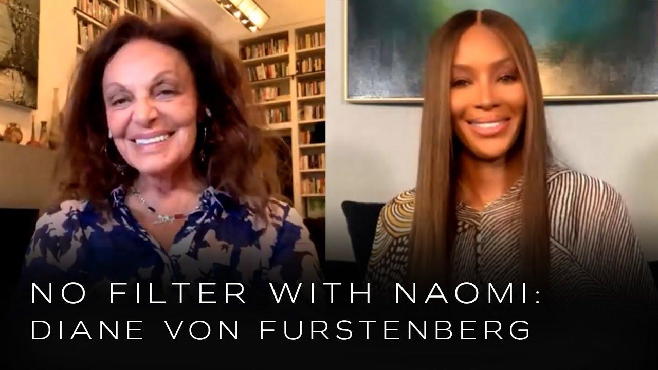 Diane von Furstenberg on Being a Living Fashion Icon | No Filter with Naomi