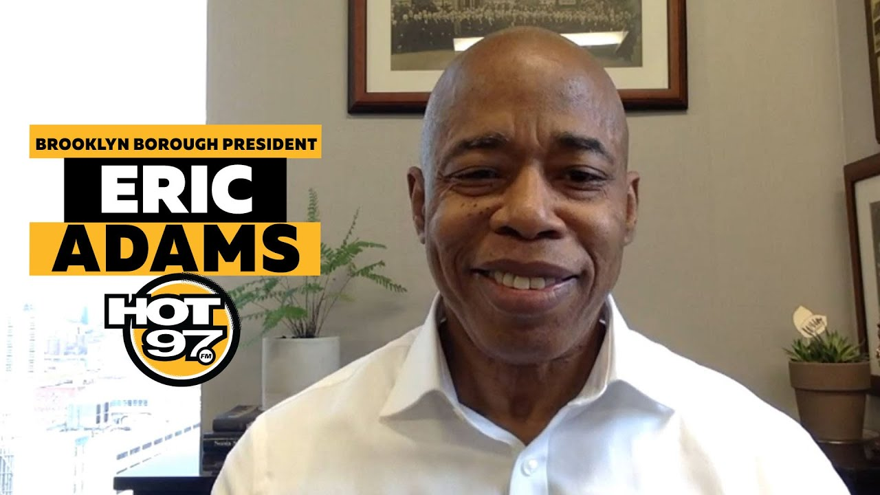 Eric Adams Officially Announces His Candidacy For NYC Mayor!