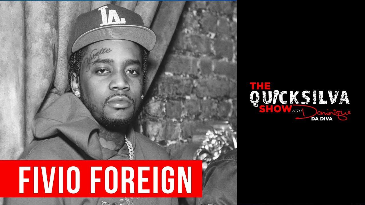 Fivio Foreign Joins DJ Quicksilva on IG Live