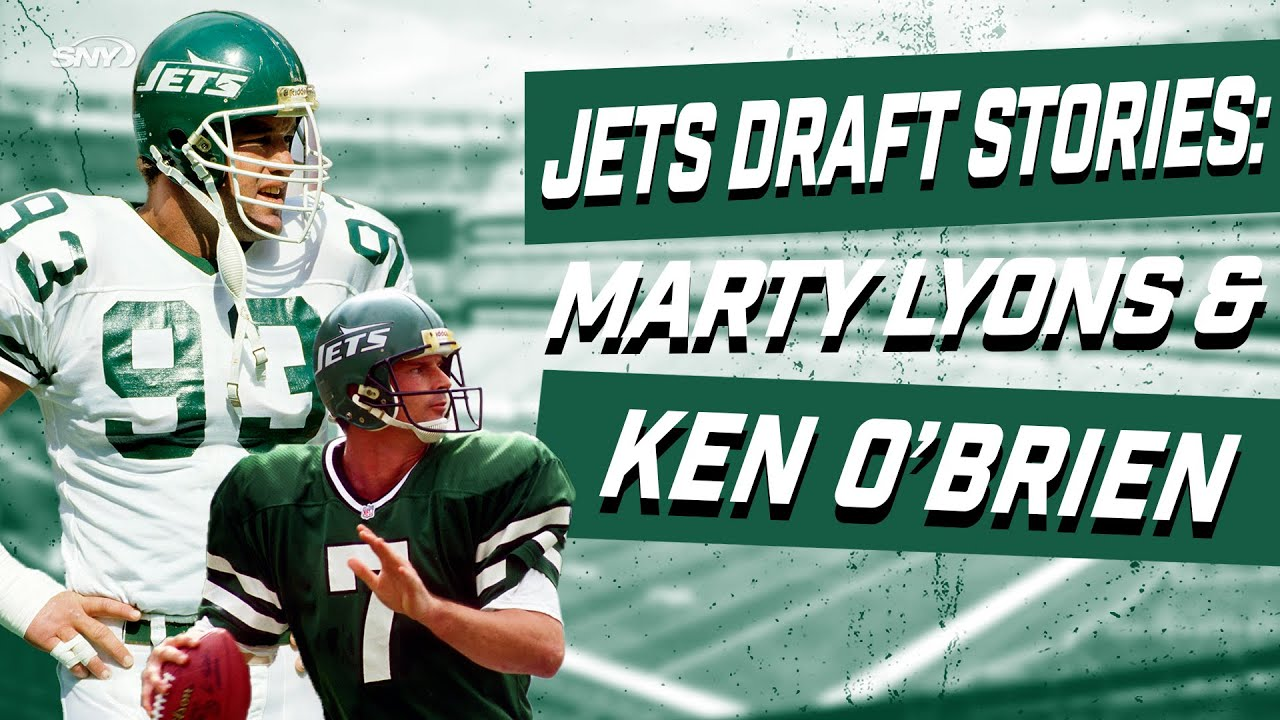 Former New York Jets stars Marty Lyons and Ken O'Brien tell their draft day stories | SNY