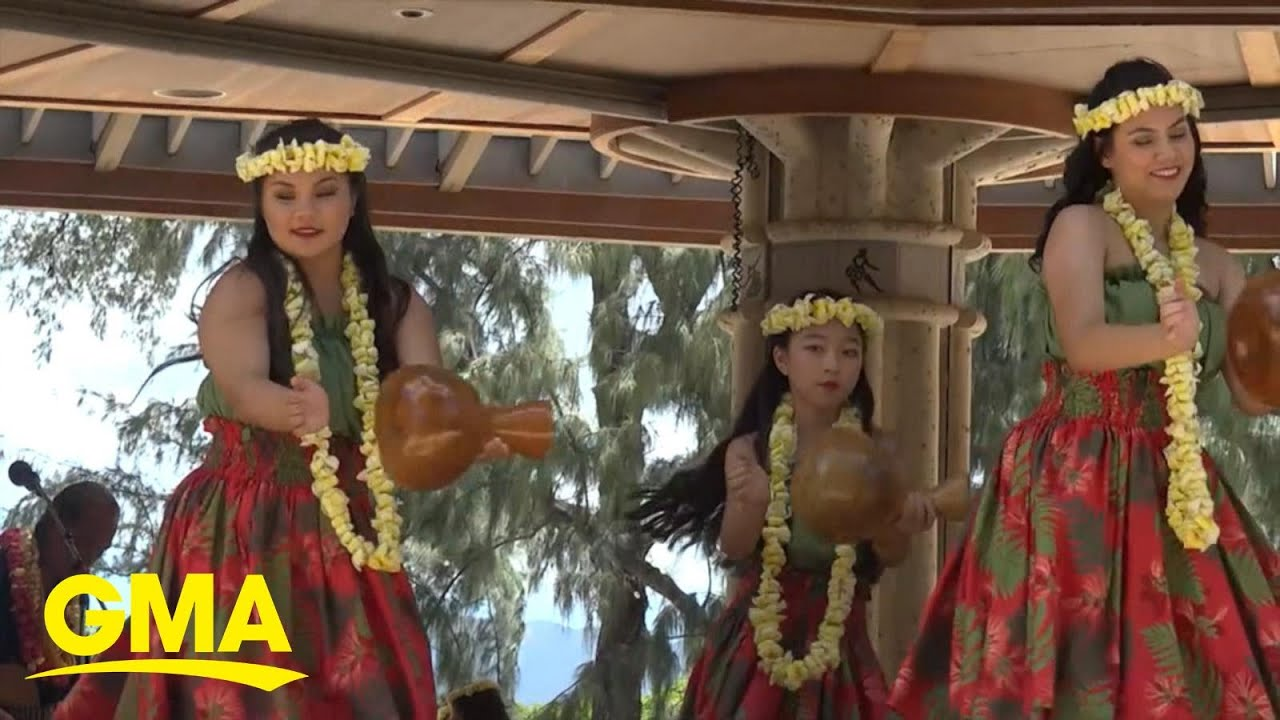 Hula competitions return in Hawaii as state reopens post-pandemic l GMA