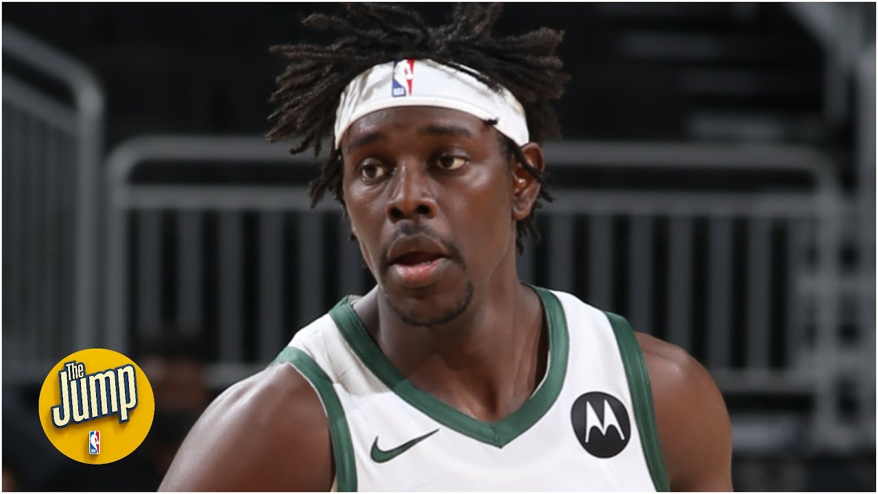Jrue Holiday's plus/minus in the first 3 games of this series is +88 🤯 | The Jump