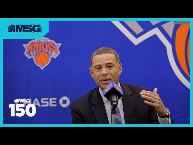 Knicks Add Two New Assistant GMs to Their Front Office | MSG 150