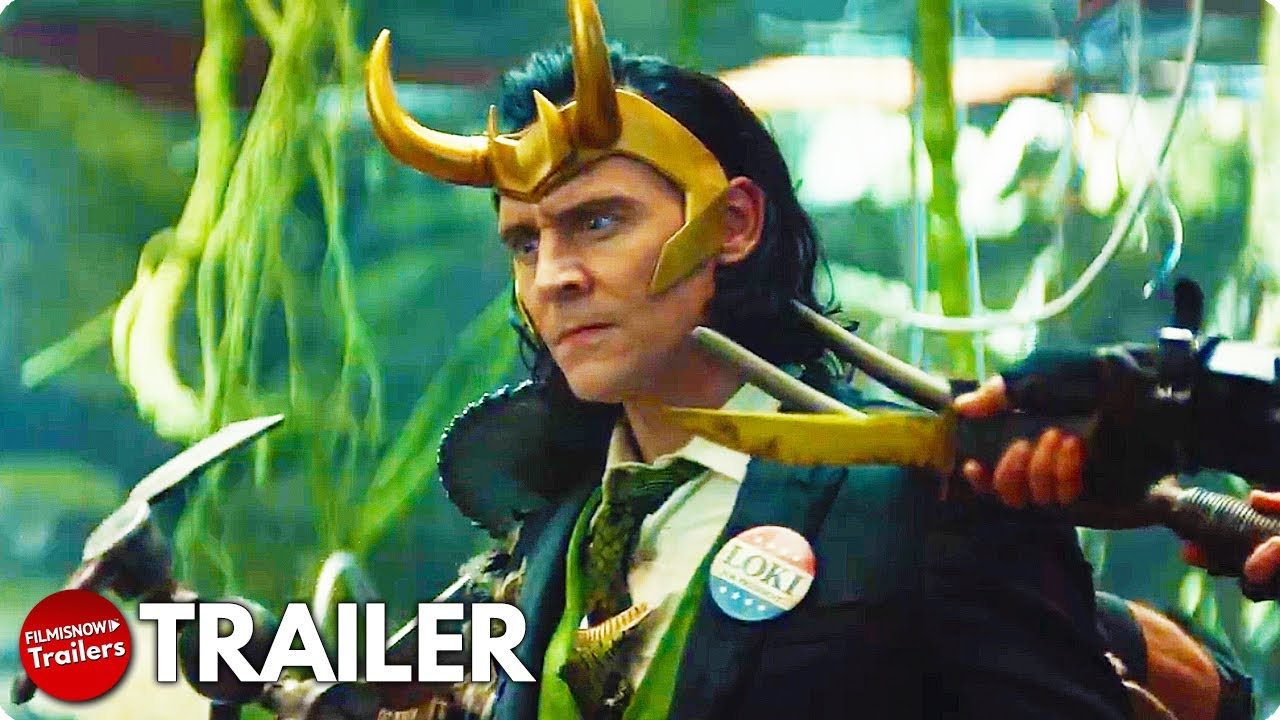 LOKI Trailer (2021) Tom Hiddleston MCU Disney+ Series