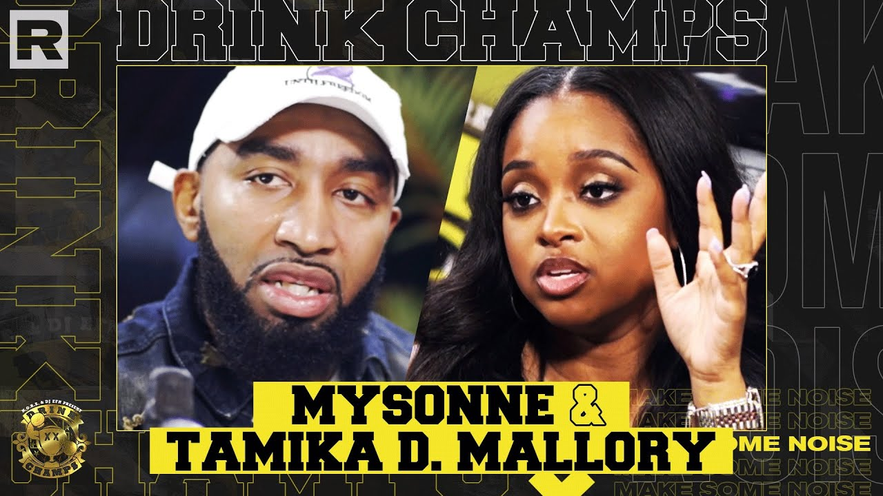 Mysonne, Tamika Mallory & Trae Tha Truth On The N-Word, Racism, Politics & More   Drink Champs