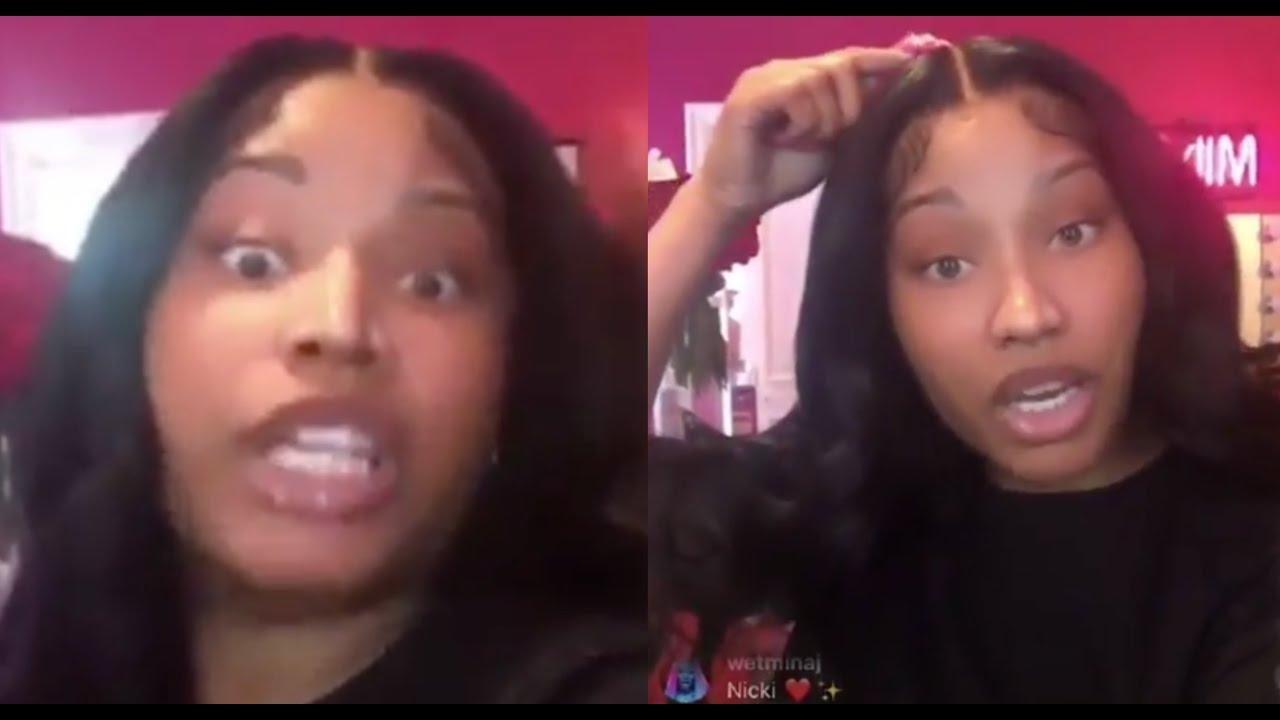 Nicki Minaj Addresses Allegations Of Coke Use After Having Sniffles On Ig Live