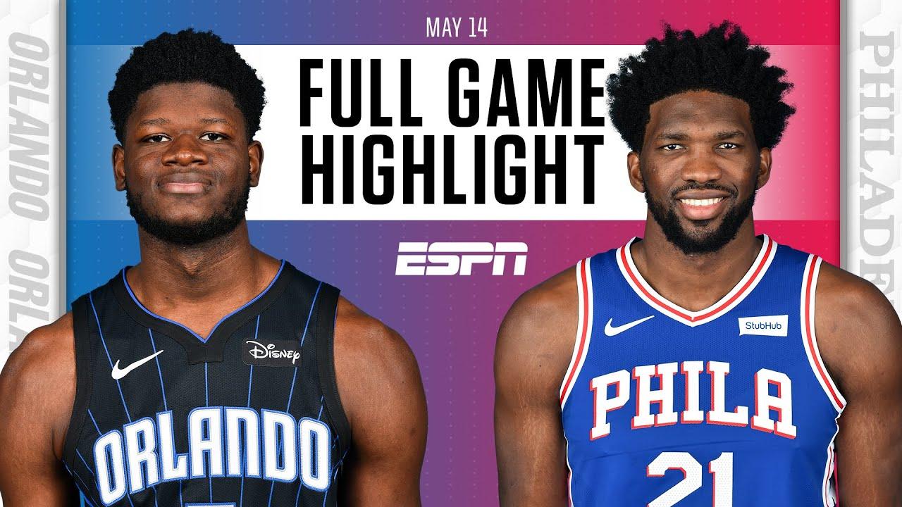 Orlando Magic at Philadelphia 76ers | Full Game Highlights