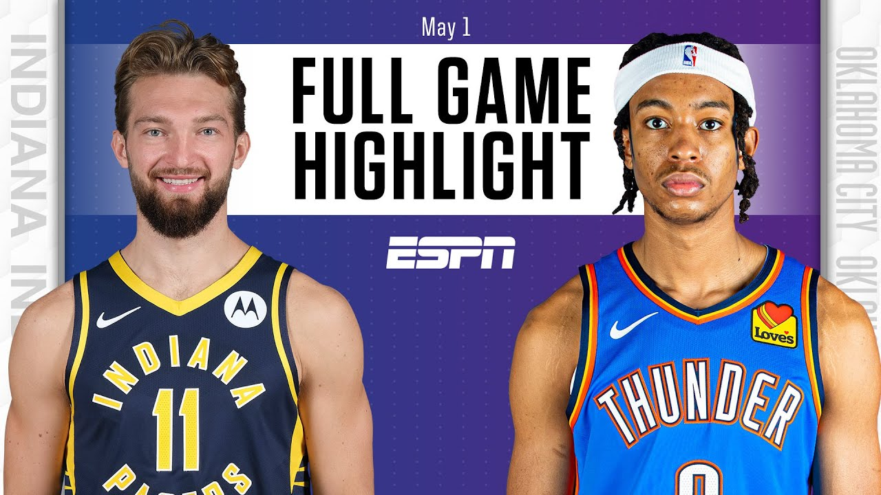 Pacers get biggest NBA road win ever with absolute DOMINATION of Thunder | Full Game Highlights