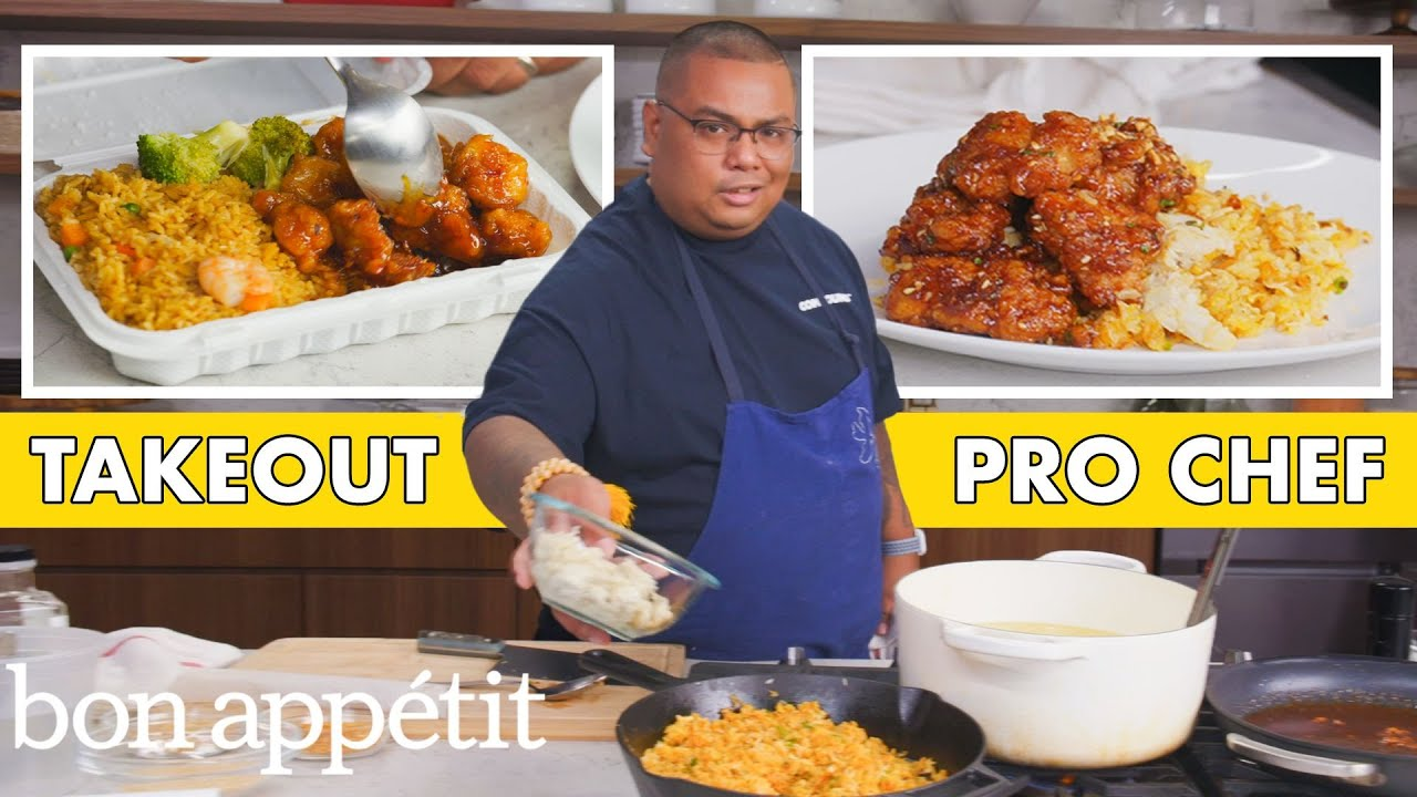 Pro Chef Tries to Make General Tso's Chicken Faster Than Delivery | Taking on Takeout