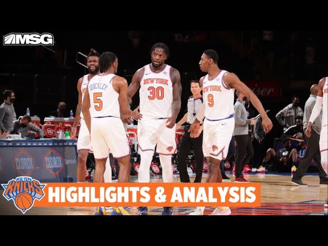 Randle Puts Up 40 As Knicks Win 8th In A Row | New York Knicks