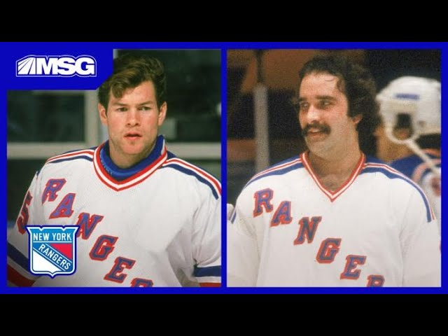 Rangers Greats Mike Richter & John Davidson Share Amazing Young Goalie Memories