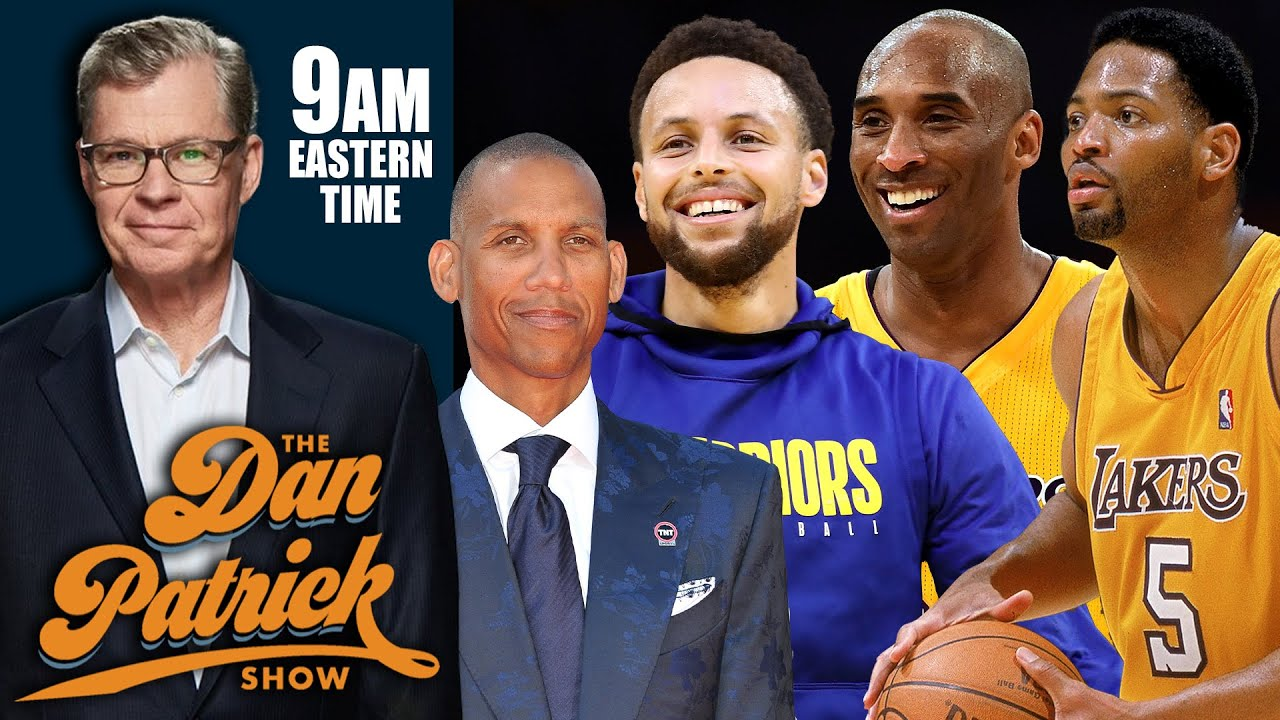 Reggie Miller Talks Hall of Fame & Explains Why Steph Curry is MVP   DAN PATRICK SHOW
