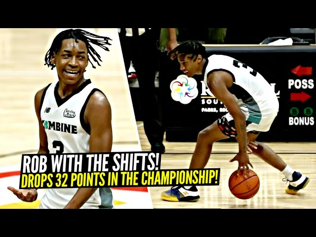 Rob Dillingham Gets SHIFTY & Drops 32 Points In CHAMPIONSHIP GAME!!