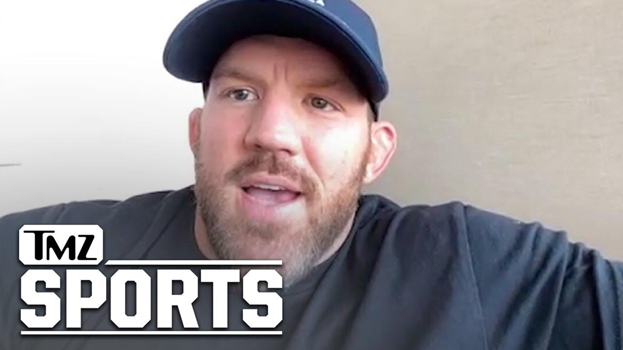 Ryan Bader Talks Upcoming Fight With Machida At Bellator's Light Heavyweight Grand Prix | TMZ Sports