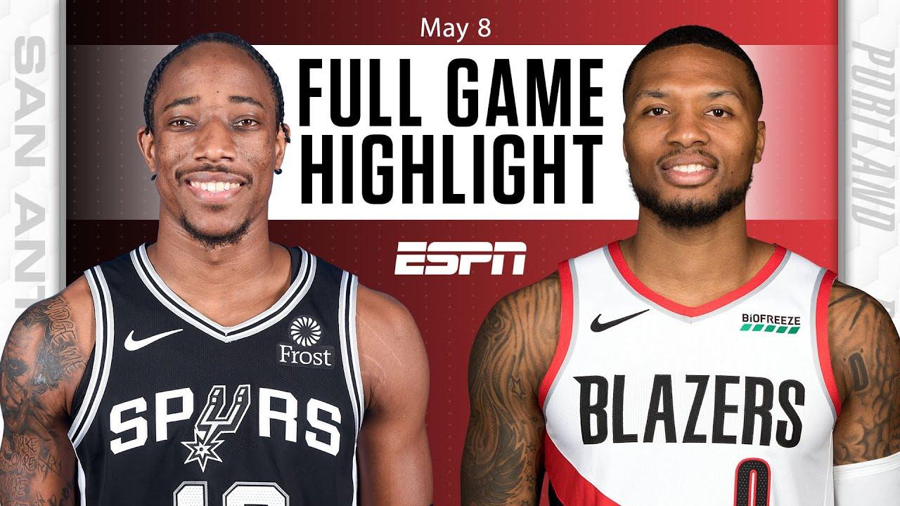San Antonio Spurs at Portland Trail Blazers | Full Game Highlights