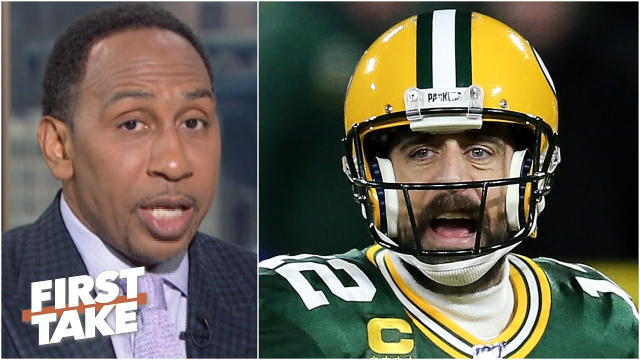 That bad man Aaron Rodgers 'looks weak' - Stephen A. on the Packers situation | First Take
