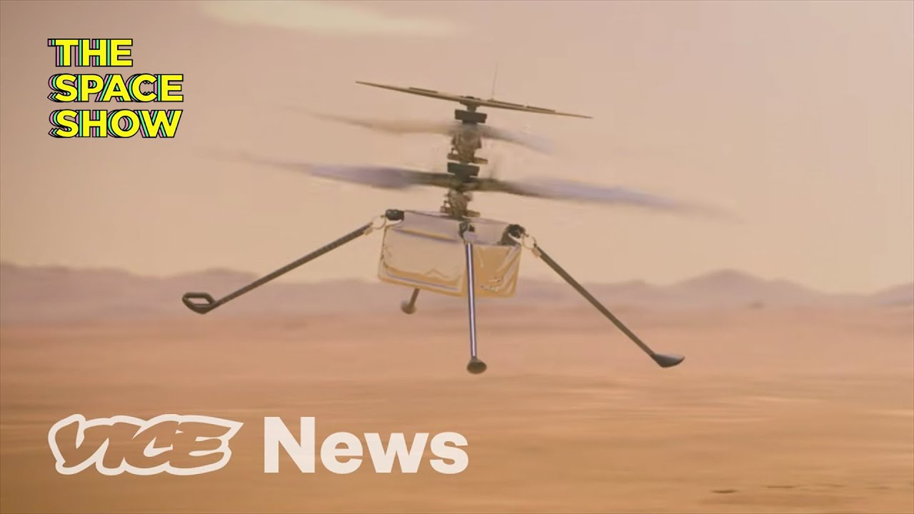 The First Helicopter to Fly on Mars