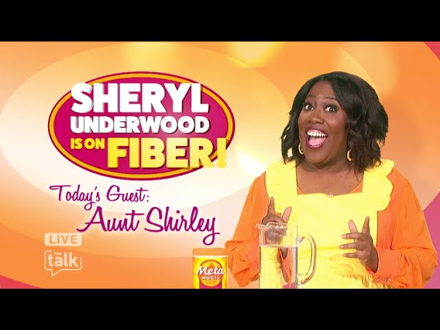 The Talk - Sheryl's Metamucil Two-Week Challenge Cooking Show