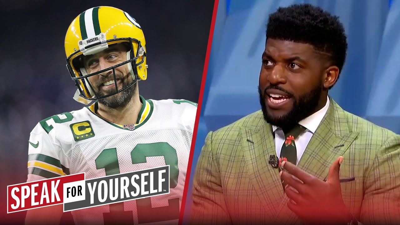 Aaron Rodgers won't fold — his odds of winning are still very high - Acho   NFL   SPEAK FOR YOURSELF
