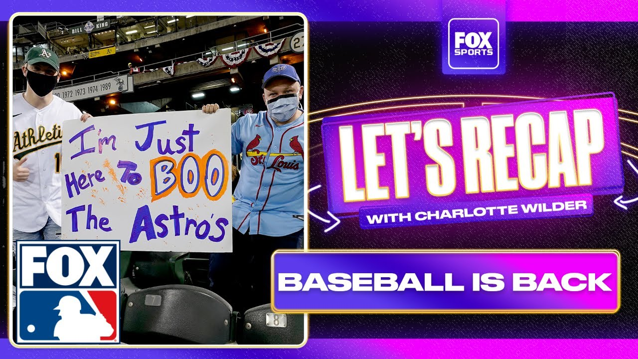 Athletics fans booing the Houston Astros on Opening Day made Charlotte Wilder happy | FOX MLB