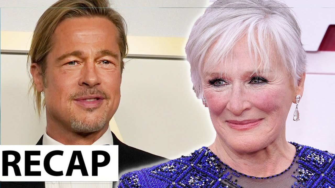 Brad Pitt Dissed & Glenn Close Twerks To 'Da Butt' - 2021 Oscar Recap