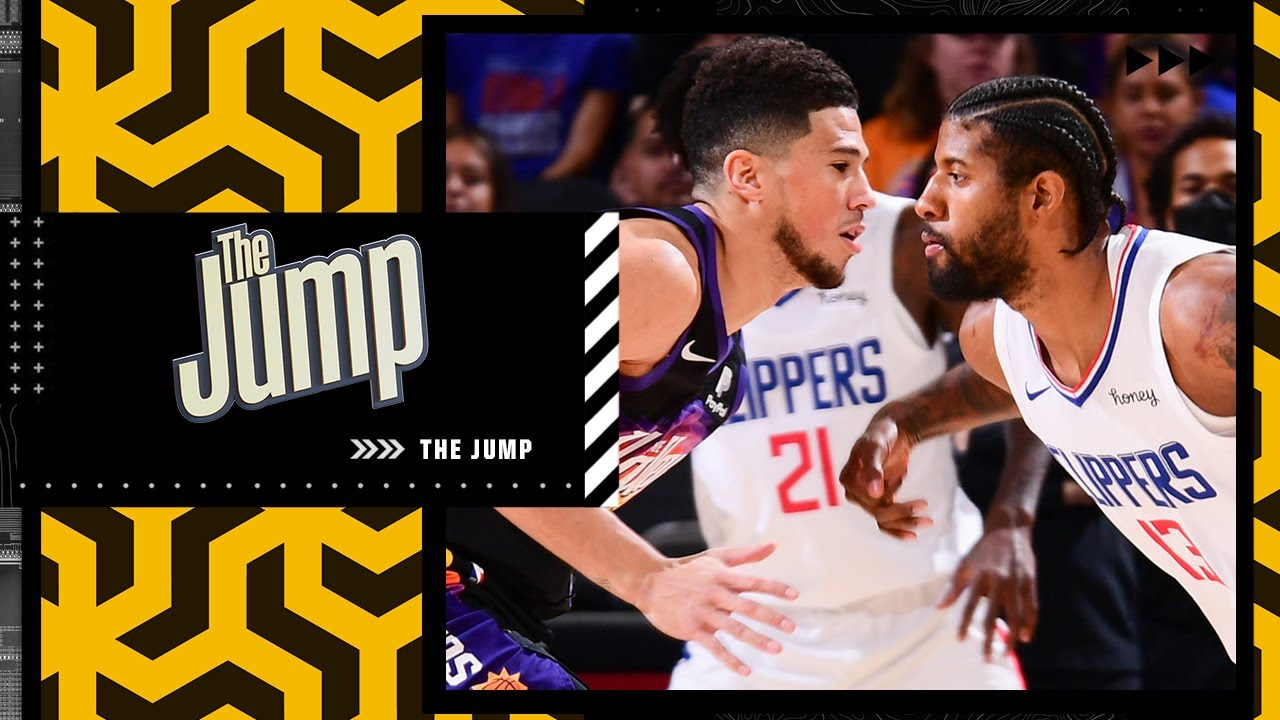 Does Paul George or Devin Booker have the bigger Game 5? | The Jump