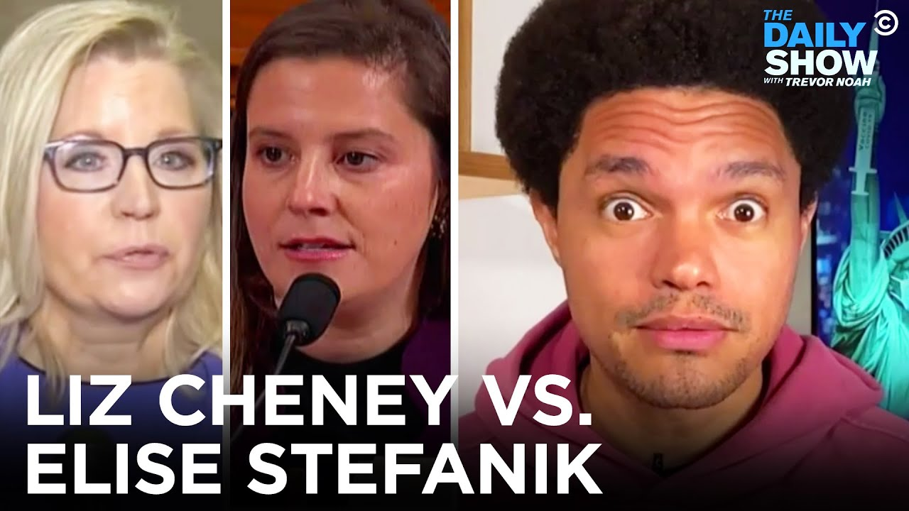 GOP Ousts Liz Cheney and Promotes Elise Stefanik   The Daily Show