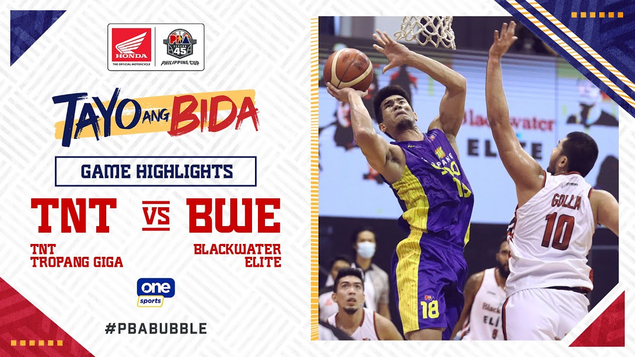 Highlights: TNT vs Blackwater   PBA Philippine Cup 2020
